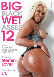 Big Black Wet Asses 12 cover
