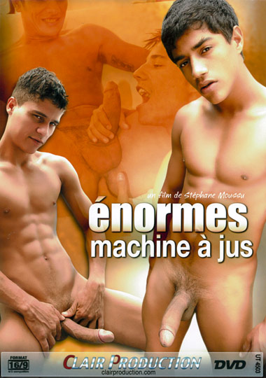 Enormes machine a jus Cover Front