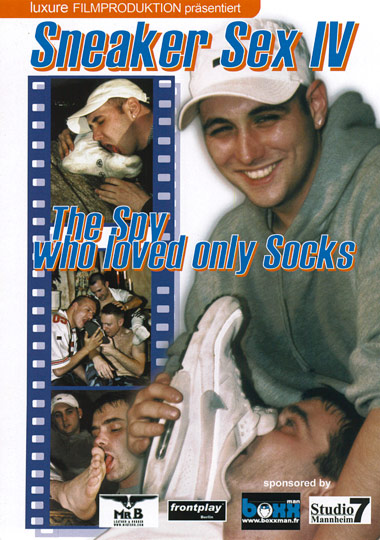 Sneaker Sex 4 The Spy Who Love Only Socks Cover Front