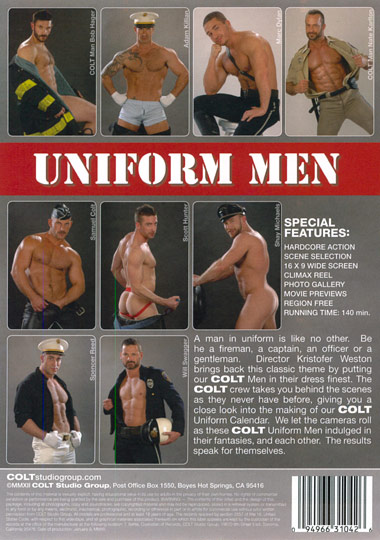 Uniform Men Cover Back