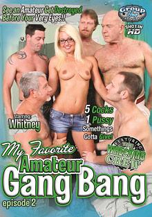My Favorite Amateur Gang Bang 2 cover