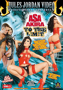 Asa Akira To The Limit cover