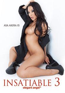 Asa Akira Is Insatiable 3 cover