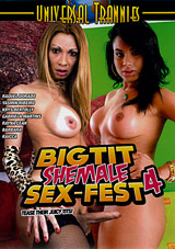 Big Tit Shemale Sex-Fest 4