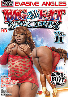 Big Um Fat Black Freaks 11 cover