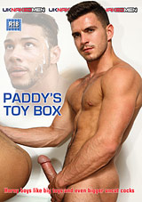 paddy's toy box, uk naked men, paddy o'brian, british, gay, porn, dildo, anal