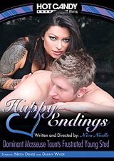Happy Endings: Dominant Masseuse Taunts Frustrated Young Stud
