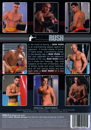 Bum Rush Cover Back