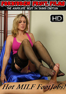 Hot MILF Footjobs cover