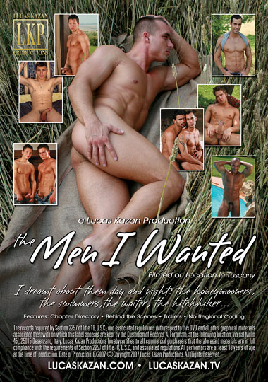 The Men I Wanted 1 Cover Back