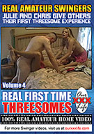 Real First Time Threesomes 4