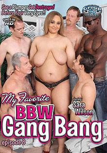 My Favorite BBW Gang Bang 8 cover