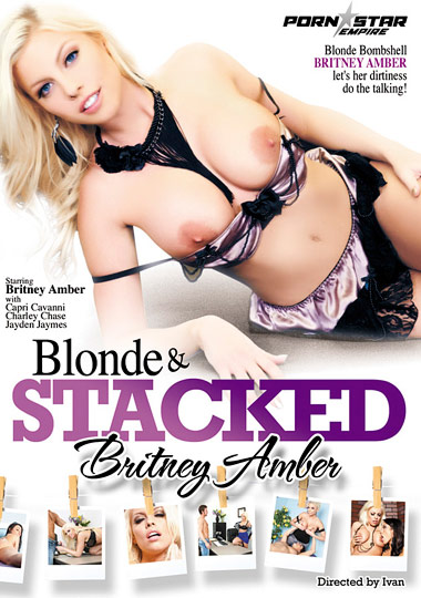 Blonde And Stacked: Britney Amber cover