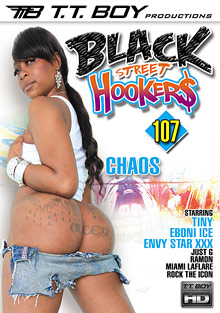 Black Street Hookers 107 cover