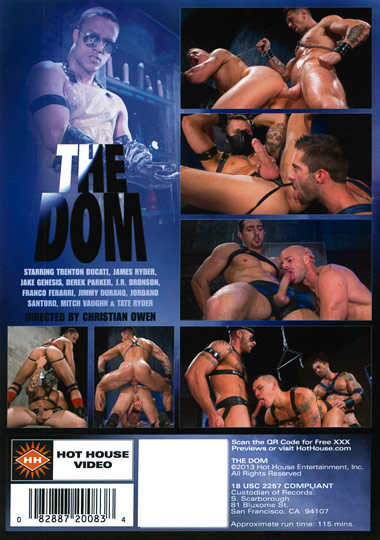 The Dom Cover Back