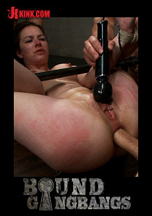 Bound Gangbangs: Brand New Girl Gets Tied Up, Gangbanged, And Dp'ed All For The First Time Ever cover