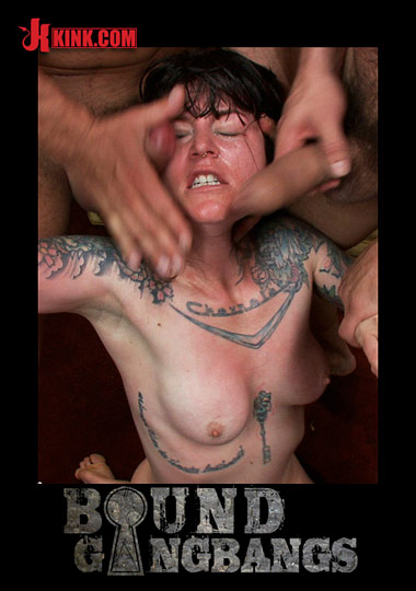 Bound Gangbangs: Kink Wardrobe Stylist Fulfills Her Fantasy Of Being Physically Overpowered And Fucked In Every Hole cover