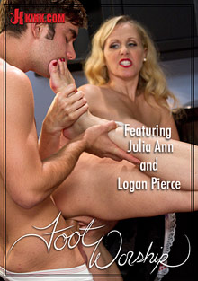Foot Worship: Forbidden Cougar Foot Fetish Featuring Julia Ann cover