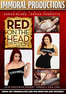 Red On The Head Fire In The Bed   2 cover
