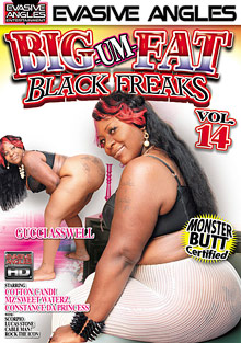 Big Um Fat Black Freaks 14 cover