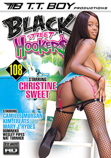 Black Street Hookers 108 cover