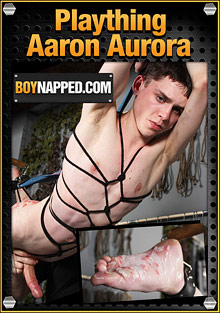 Boynapped 370: Plaything Aaron Aurora cover