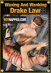 Boynapped 376: Waxing And Wanking Drake Law cover