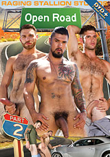 open road 2, raging stallion studios, gay, porn, boomer banks, big dick, mike dozer