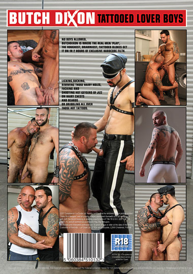 Tattooed Lover Boys Cover Front