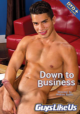 down to business, guys like us, porn, gay, joey rico, latin, falcon studios