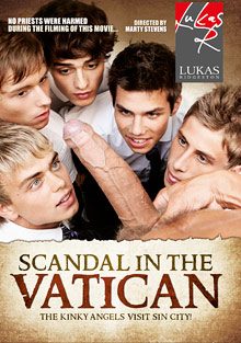 Scandal In The Vatican cover