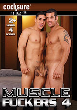 muscle fuckers 4, cocksure men, marcus ruhl, topher dimaggio, gay, porn, muscles