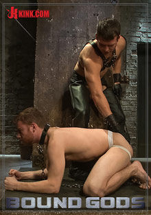 Bound Gods: New Dom Hayden Richards Fucks And Fists Slave 316 cover