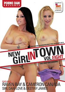 New Girl In Town 8 cover