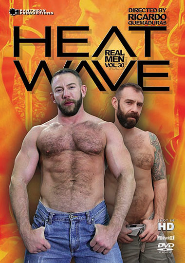 Real Men 30 Heat Wave Cover Front