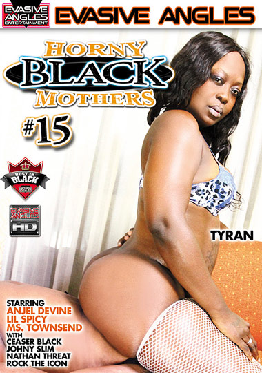 Horny Black Mothers 15 cover