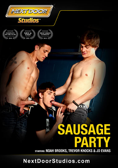 Sausage Party Cover Front