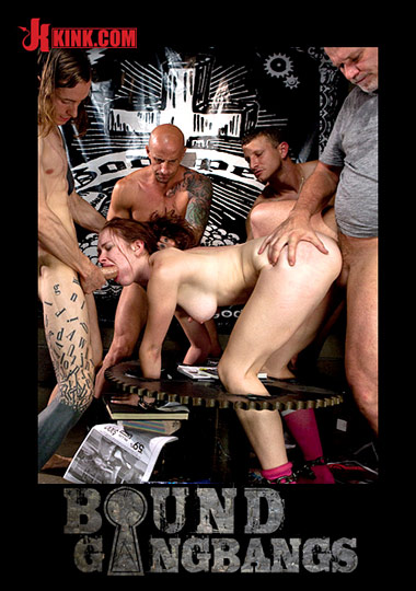 Bound Gangbags: Road Trippin' - Featuring Melody Jordan's First GangBang cover