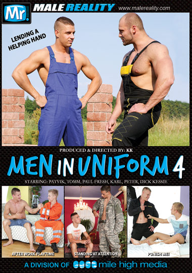 Men in Uniform 4 Cover Front