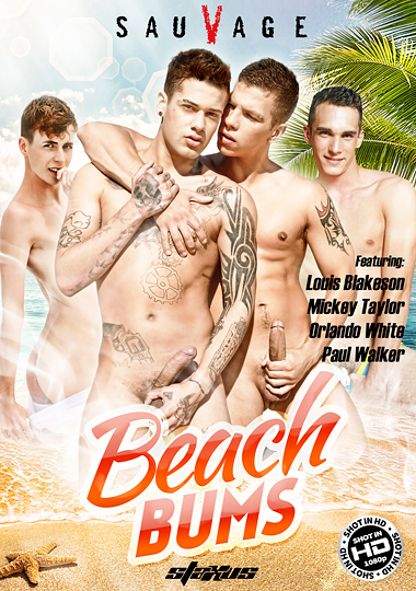 Beach Bums (Staxus) Cover Front