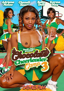Chocolate Cheerleader Camp 3 cover