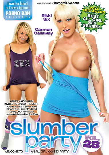 Slumber Party 28 cover
