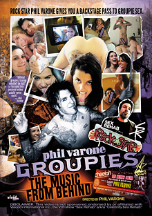 Phil Varone's Groupies: The Music From Behind cover