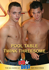 Pool Table Twink Threesome