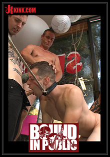 Bound In Public: Greedy Whore Gang Banged By Horny Dudes At A Local Balloon Shop cover
