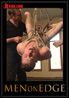 Men On Edge: Hung Stud Tied Up, Ass Fucked And Made To Swallow Cock