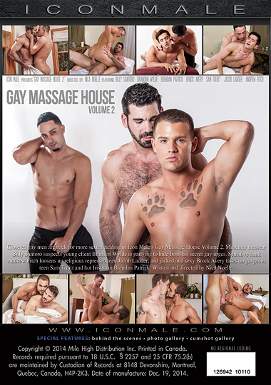 Gay Massage House 2 Back Cover