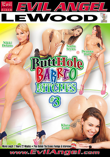 Butthole Barrio Bitches 3 cover