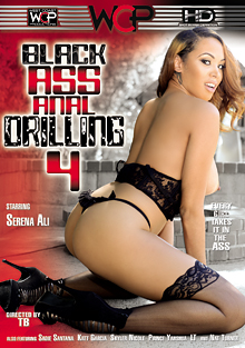 Black Ass Anal Drilling 4 cover