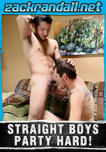Straight Boys Party Hard cover